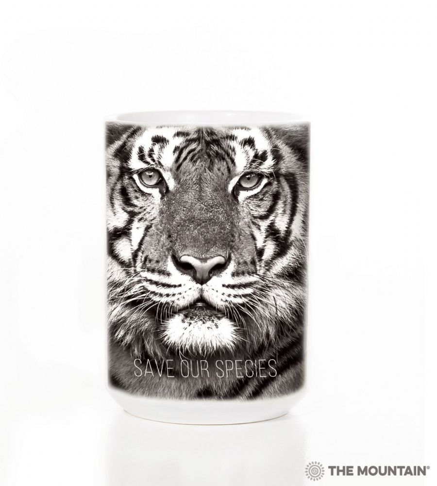 Save Our Species Tiger Ceramic Mug